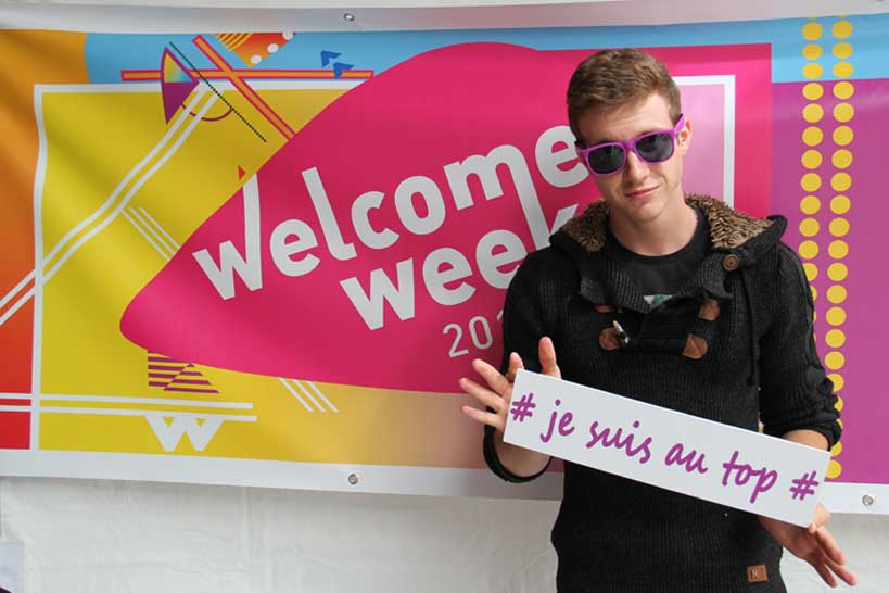 Welcome week borne photos