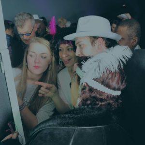 utilisation de la borne photo facebooth pendant un événement