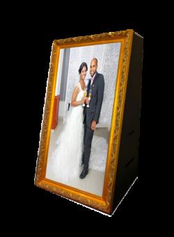 borne photo miroir location - mariage - Région parisienne