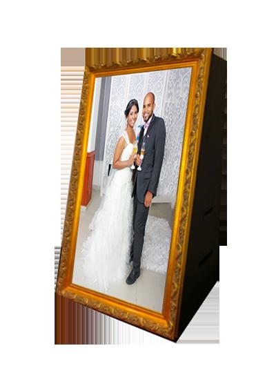 borne photo miroir location - mariage