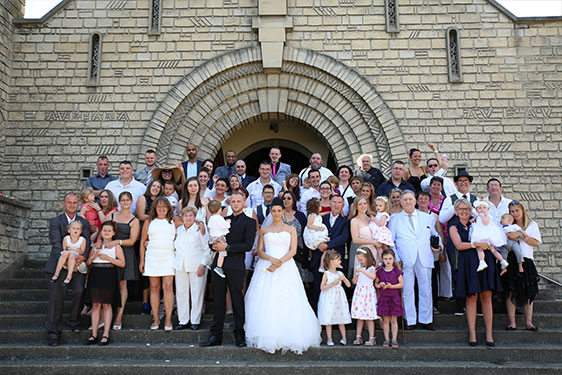 photoshoot famille mariage