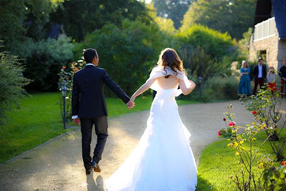 photos jeunes mariés - evenement particulier bclabel